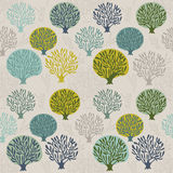 Seamless pattern with leaf, abstract leaf texture, endless backg Stock Photography