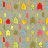 Seamless pattern with leaf,autumn leaf background Royalty Free Stock Photography