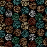 Seamless pattern with leaf. Seamless texture can be used for wal Royalty Free Stock Images