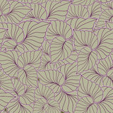 A seamless pattern with leaf Stock Photos