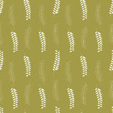 Seamless pattern with leafs. Royalty Free Stock Photo