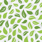 Seamless pattern with leafs Royalty Free Stock Photos