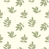 Seamless pattern with leafs Stock Photos