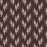 Seamless pattern with leaves. And abstract drobs dew of water Royalty Free Stock Photography