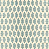 A seamless pattern with leaves Royalty Free Stock Image
