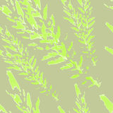 Seamless pattern with leaves Stock Images