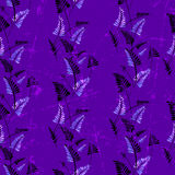 Seamless pattern with  leaves ornament Royalty Free Stock Image