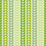 Seamless pattern with leaves in pastel colour Stock Photography