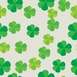 Seamless pattern leaves plants clover. Semanggi Plants is a group of Salviniales water spikes from Marsilea clan which in Indonesia is easy to find in rice Stock Images