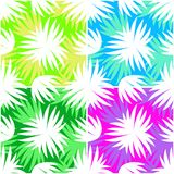 Seamless Pattern, Leaves Silhouettes Royalty Free Stock Photography