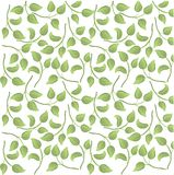 Seamless pattern leaves Royalty Free Stock Photography