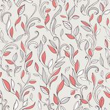 Seamless pattern. leaves. Royalty Free Stock Photos