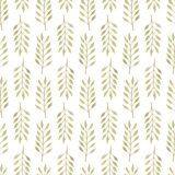 Seamless pattern with leaves Royalty Free Stock Photo