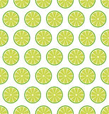 Seamless pattern with  lemons or limes. Vector seamless pattern with sliced lemons or limes. Vector illustration. Design element for  for cafe or restaurant or Royalty Free Stock Images