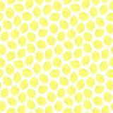 Seamless pattern with lemons. Stock Photo