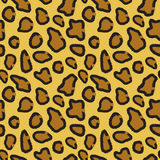 Seamless pattern of leopard skin Royalty Free Stock Photography