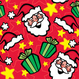 Seamless Pattern- Let's Have Some Xmas Fun! Royalty Free Stock Photo