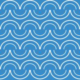 Seamless  pattern on light blue background Royalty Free Stock Photos