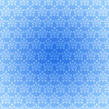 Seamless pattern light blue snowflakes Royalty Free Stock Image