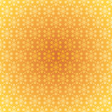 Seamless pattern light gold snowflakes Stock Image