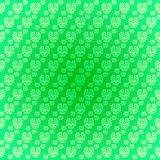 Seamless pattern light green drawings Stock Images