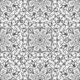 Seamless pattern - linear abstract background. Seamless pattern - linear abstract black and white background Stock Photo