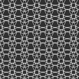 Seamless pattern lines with curve, grate background Royalty Free Stock Images