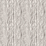 Seamless pattern of lines drawn by brush and ink Stock Photos