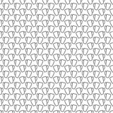 Seamless pattern of lines. Empty cup. Stock Photos