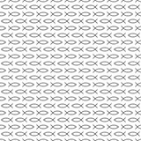 Seamless pattern of lines. Fish of the lines. Vector illustration. Good quality. Good design Stock Photography