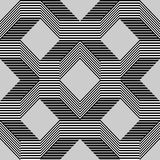 Seamless pattern with lines gray Royalty Free Stock Photo