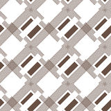 Seamless pattern of lines Royalty Free Stock Photography