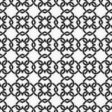Seamless pattern of links in form of hearts Royalty Free Stock Photography