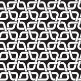 Seamless pattern of links in form of rhombs. Chain mail of the links in form of rhombs. Celtic seamless pattern with swatch for filling. Fashion geometric Royalty Free Stock Photos