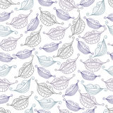 Seamless pattern with lips Stock Images