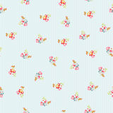Seamless Pattern with little flowers Stock Photography