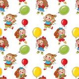 Little girls Stock Image