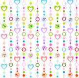 Seamless pattern with little hearts. Cute seamless pattern with colorful little hearts Royalty Free Stock Photography
