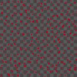 Seamless pattern with little red hearts for Valentine`s Day. Vector.  Stock Photos