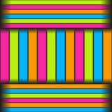 Seamless pattern of longitudinal and transverse multicolored stripes. Vector eps 10 vector illustration