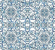 Seamless pattern of the loop. In bright colors Stock Images