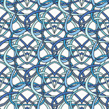 Seamless pattern of the loop Royalty Free Stock Photo