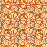Seamless pattern of the loop. In bright colors Stock Photo