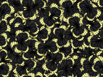Seamless pattern with lot of different butterflys Royalty Free Stock Photo
