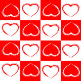 Seamless pattern love abstract background. Stock Photography