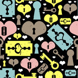 Seamless pattern love theme Royalty Free Stock Photos