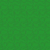 Seamless pattern of lucky four-leaf clover. Royalty Free Stock Image