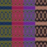 Seamless pattern made from colorful butterfly wing for backgroun Stock Images