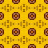 Seamless pattern made from colorful butterfly wing for backgroun Royalty Free Stock Photography