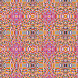 Seamless pattern made of colorful mosaic, Abseract ornamental background, Tile ornament template Royalty Free Stock Photos